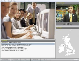 Siemens online employee induction program