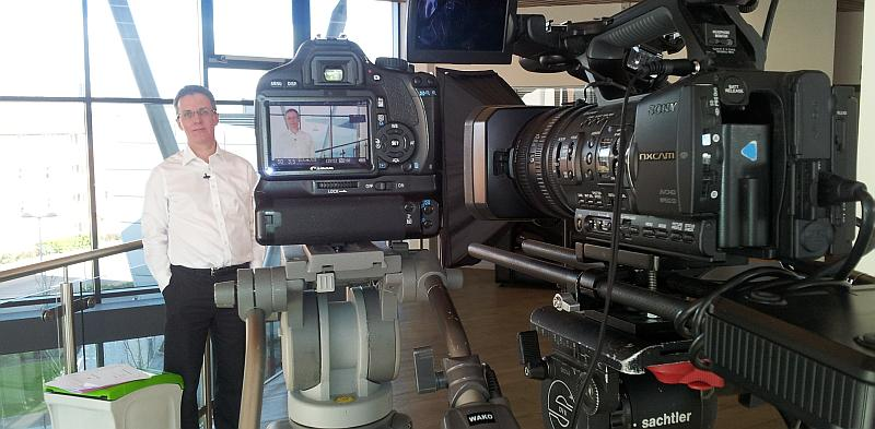 filming the High Growth academy