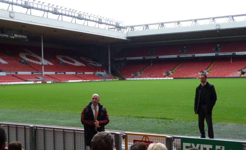 Liverpool FC The Kop and BigAnt Video Sapphire Events and IRT
