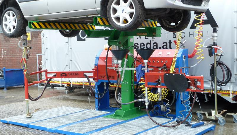 SEDA Recycling at CARS event with BigAnt Video Sapphire Events and IRT